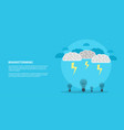 brain storm concept vector image vector image