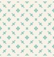 elegant floral seamless pattern vintage ornament vector image