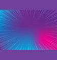 neon pop art comics gradient radial background vector image vector image