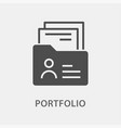 portfolio icon for graphic