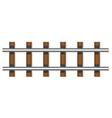 railway rails 01 vector image vector image