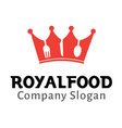 Royal Food Design vector image vector image