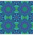 Seamless oriental ornamental pattern vector image vector image