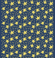 star background pattern vector image