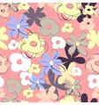 Summer seamless wallpaper vector image vector image