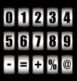 Ticker counter vector | Price: 1 Credit (USD $1)