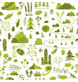wild field nature seamless pattern for your vector image vector image