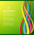 abstract geometric dynamic bright poster vector image