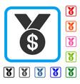bestseller framed icon vector image