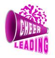 cheerleading vector image vector image