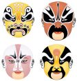 china mask vector image vector image