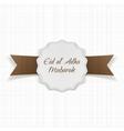 eid al-adha mubarak paper label