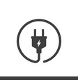 electric plugs icon vector image