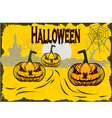 Halloween holiday that everyone is waiting for and vector image vector image