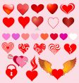 Heart variants vector | Price: 1 Credit (USD $1)