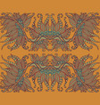 mystic tribal shamanic ethnic floral pattern vector image vector image