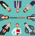 people business man and woman characters worker vector image vector image