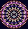 round Ornament Pattern Geometric vector image