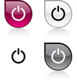 Switch button vector image vector image