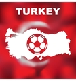 Turkish Abstract Map vector image vector image
