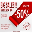 Price tag design vector image vector image
