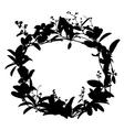 wreath01 vector image