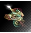 Abstract Curved Lines vector image