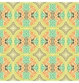 abstract ethnic seamless fabric pattern vector image