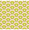 Abstract seamless pattern simple waves vector image vector image