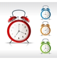 alarm clocks vector image