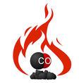 Coal vector image vector image
