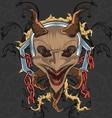 Devil theme vector image vector image