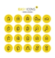Easy icons 02 Home vector image