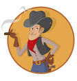 Old West Gunslinger vector image
