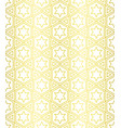 seamless pattern in islamic ornamental pattern vector image vector image