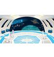 Spaceship interior vector image