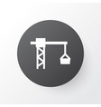 tower crane icon symbol premium quality isolated vector image vector image