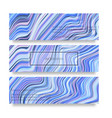 warped lines background flexible stripes vector image