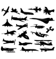 Airplanes 11 vector image vector image