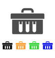 analysis case flat icon vector image vector image