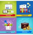 Business Concept Set vector image
