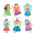 Little fairy girls vector image vector image