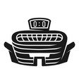 outdoor stadium icon simple style vector image vector image