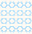 subtle seamless pattern in white and light blue vector image vector image