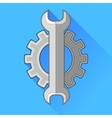 Wrench Gear Icon vector image vector image