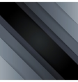 Dark gray paper triangle shapes abstract vector image