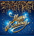 concept party on blue dark background top view vector image vector image