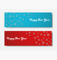 design blue background for christmas sales vector image vector image