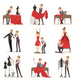 dressmaker set male designer tailoring measuring vector image