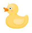duck toy for kid vector image